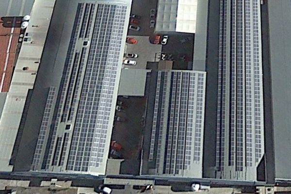 Parque fotovoltaico sobre cubierta (Albolote 2)