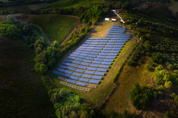 Parque fotovoltaico sobre suelo (Abruzzo)
